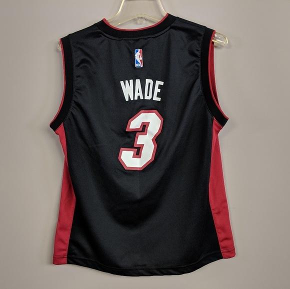 new arrival 3b8be 504d3 Adidas Miami heat Dwyane Wade Jersey